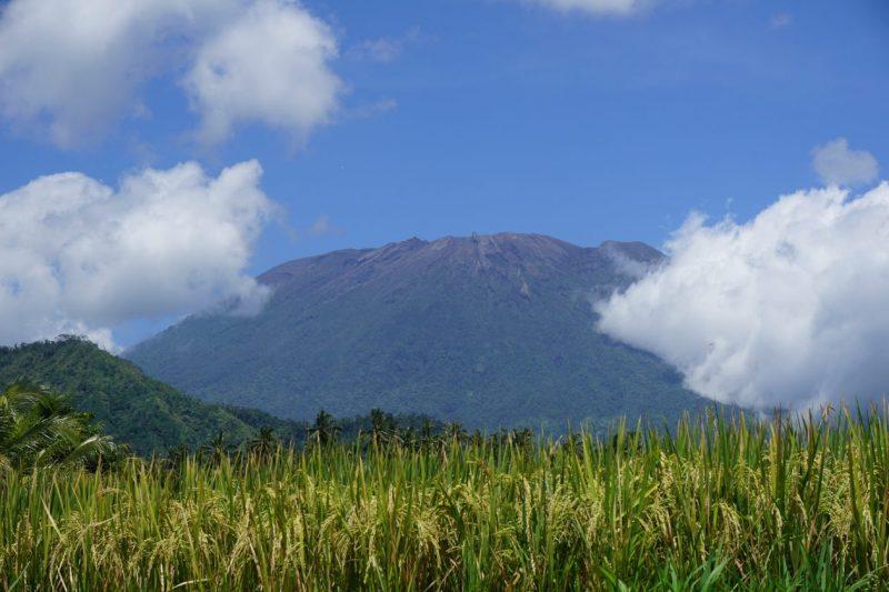 Gunung Agung Volcano in Indonesia